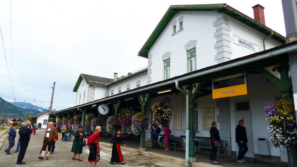 Mariazelli jaam. Mariazell station