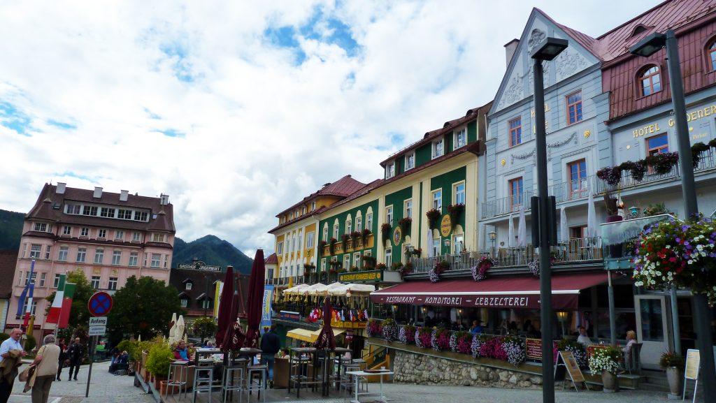 Mariazelli tänavad. Streets of Mariazell