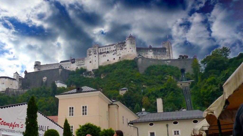 Hohensalzburgi kindlus. Hohensalzburg fortress