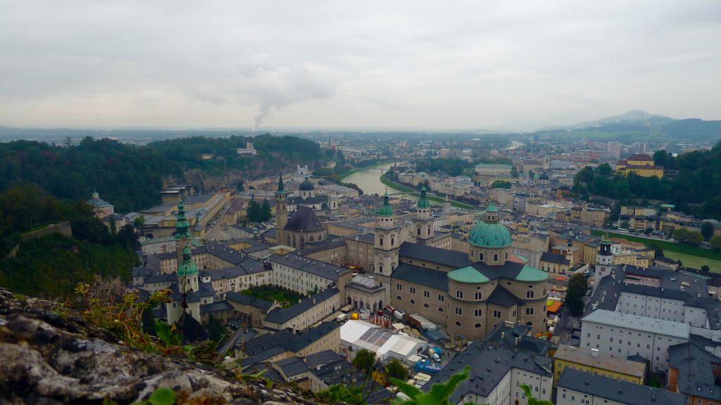 Salzburg meie jalge ees. Salzburg at our feet