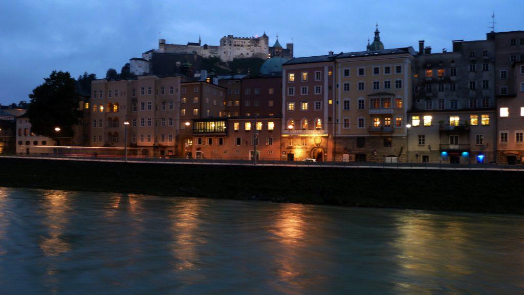 Õhtune Salzburg. Salzburg at night
